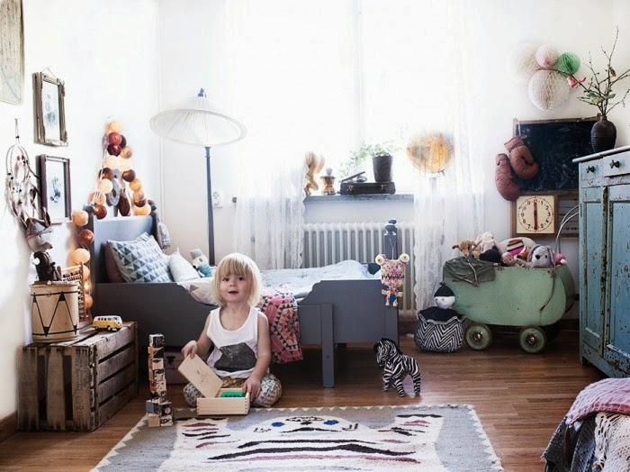 Perfect A Bohemian Chic Kidsu0027 Room