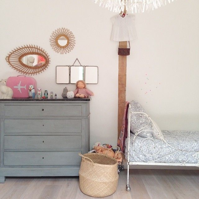 vintage girls bedroom - Creative Girls Rooms