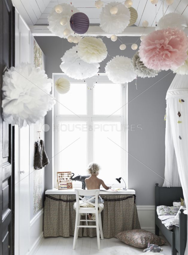 grey girls room - Creative Girls Rooms