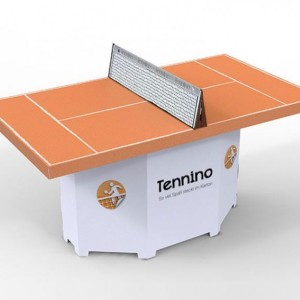 Tennino A Self Assemble Cardboard Ping Pong Table