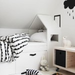 7 Black and White Kids Spaces