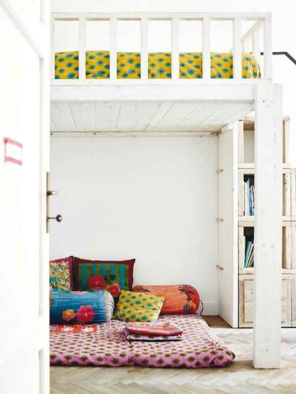 colourful-boho-teen-room