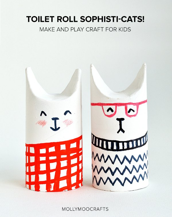 6 Creative Crafts With Toilet Paper Rolls Petit Amp Small