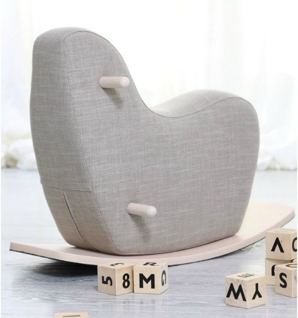 Award-winning modern rocking horse from Ooh Noo