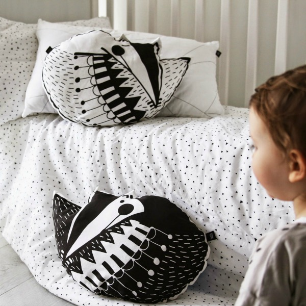 Lovely Little Vixen Pillows by Ana Maraž for Ooh Noo