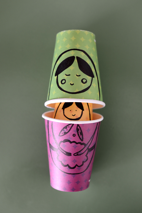 diy-russian-dolls-paper-cups