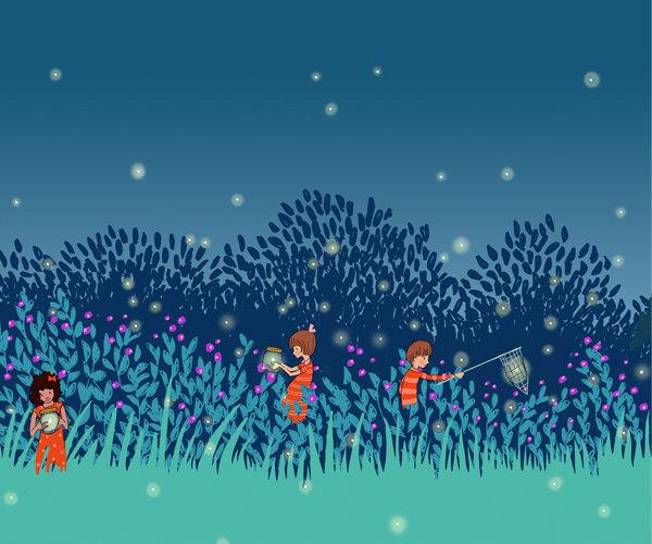 glow-worms-kids-wallpaper1