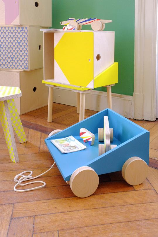 The Colorful Kids Furniture by Studio delle Alpi Petit Small