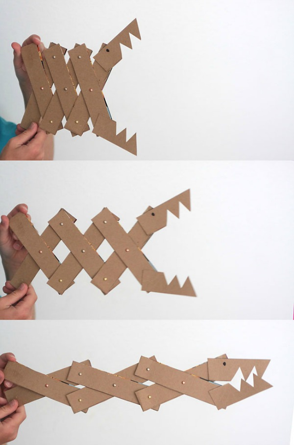 DiY Cereal Box Monster Jaws. To make a monster you need cardboard ...