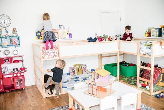shared-bedroom-three-ikea-kura-bed-bunk-beds