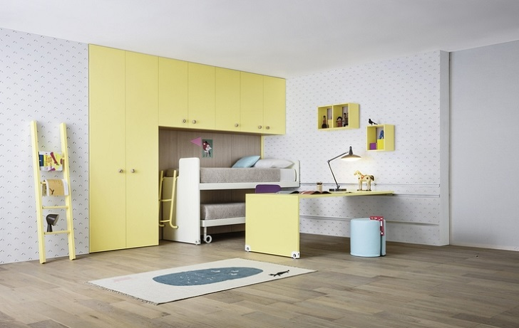 Young rooms and modular children furniture petit small - Sofas para habitaciones juveniles ...