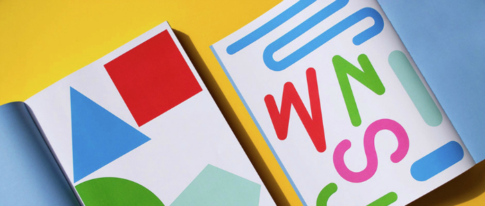 Beautiful, bright geometric shapes in new system to help kids learn to write