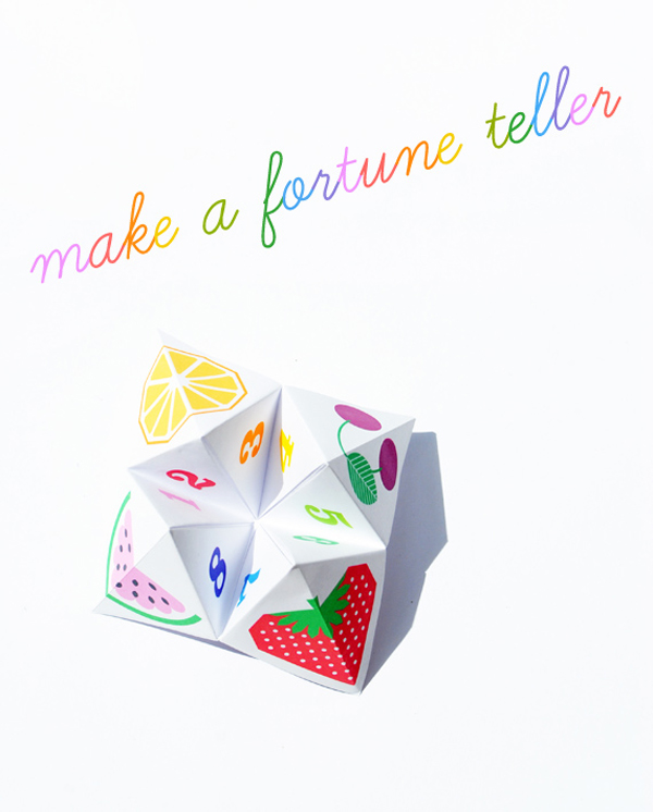 Foreseeing the Future with Origami Fortune Teller