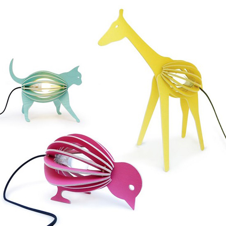 A  Zoo of Children's Lamps