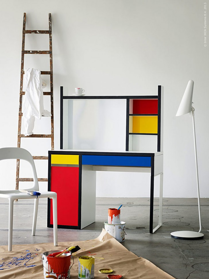 workspaces for kids micke desk by ikea petit small. Black Bedroom Furniture Sets. Home Design Ideas