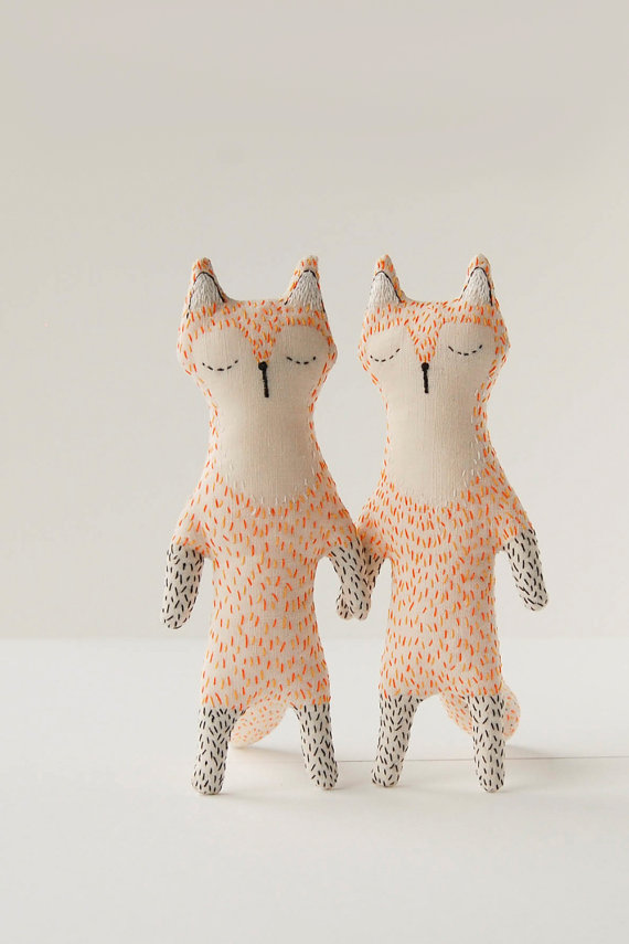 Woodland Creatures from Ukraine: Stitching Tales