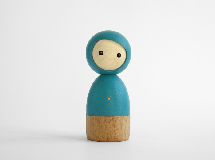 Avakai, Smart Wooden doll - Petit & Small