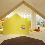 An Indoor Playground with Colourful Houses