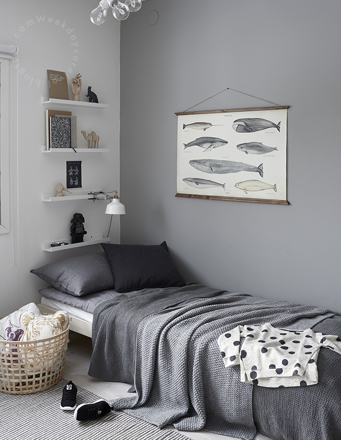 6 neutral kids rooms wih a touch of grey petit small for Grey and neutral bedroom