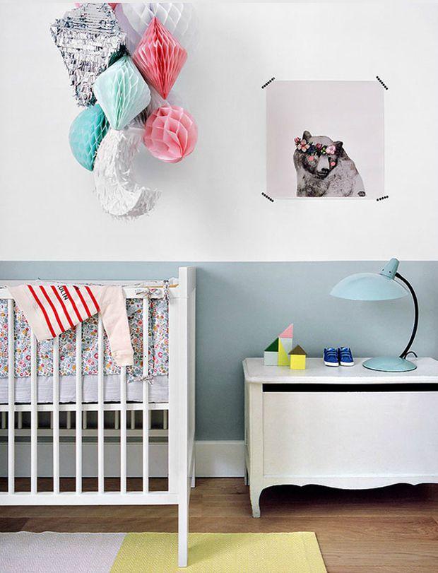 baby-nursery-scaninavian-boho-style