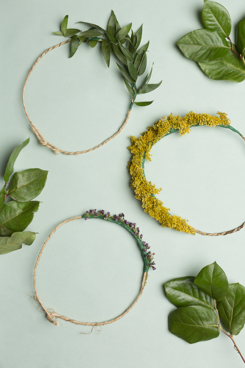 How to Make A Lovely Natural Crown