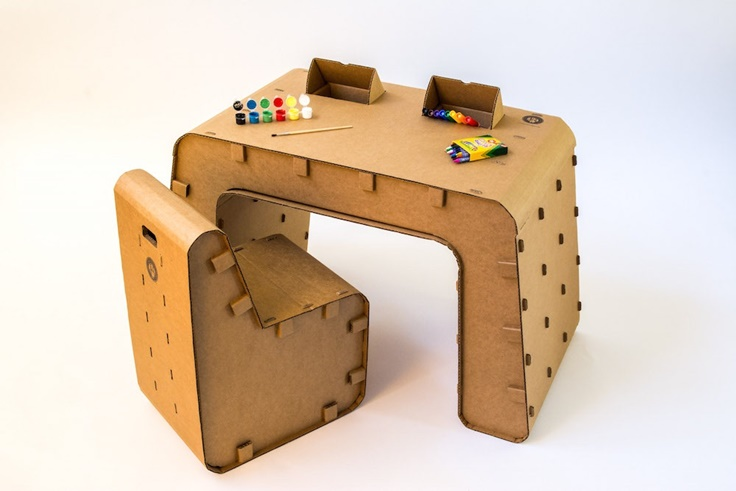 Cardboard Furniture For Kids The Carboard Guys Petit Small