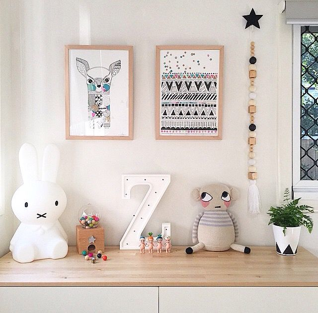 Kids' Decoration Trends: Ornamental Light up Letters