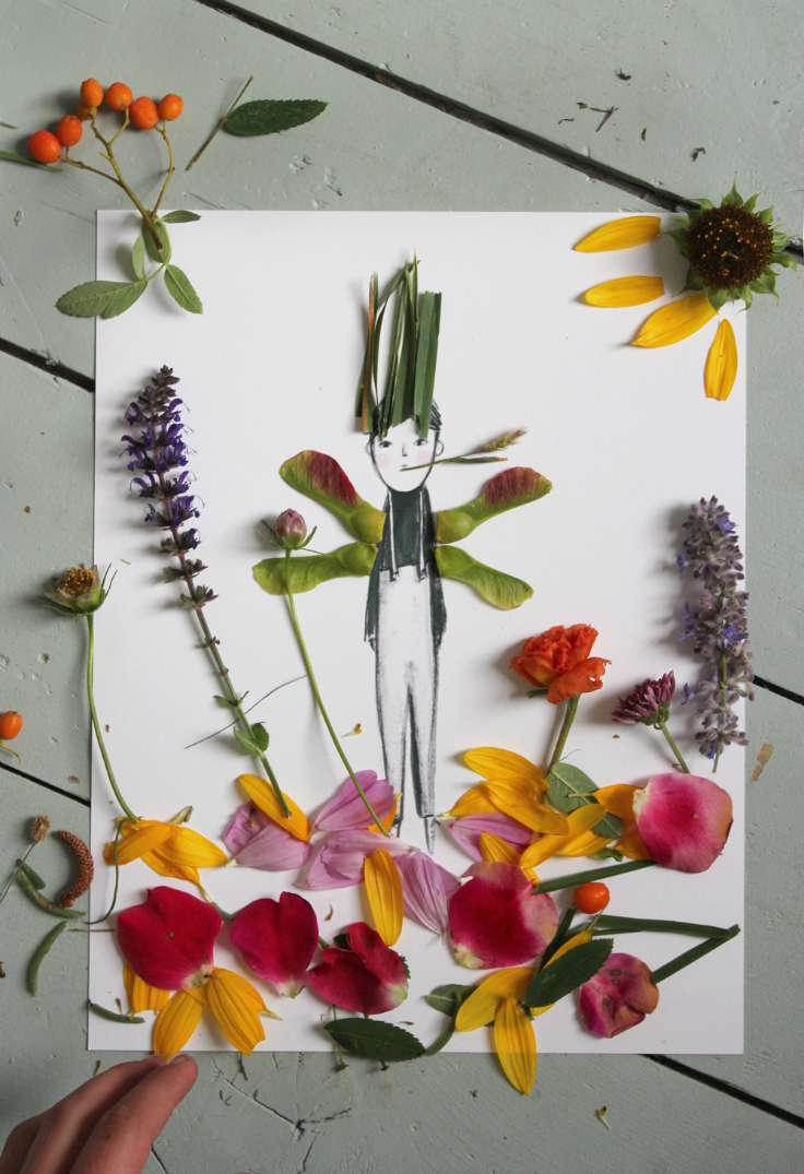 Make and Decorate Your Own Nature Paper Dolls by Mer Mag 2