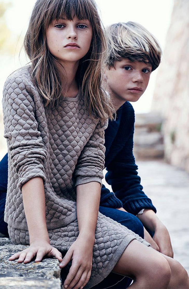 Massimo Dutti's Kids' Fashion for 2015 Autumn
