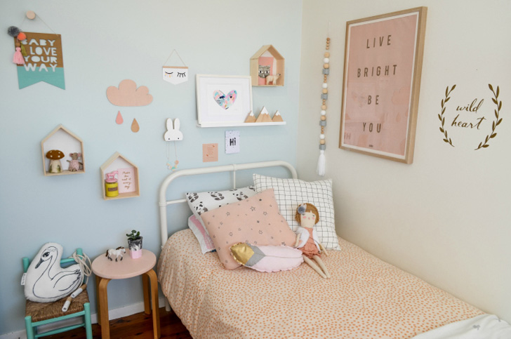 Dream Kids' Room in Pastel Tones
