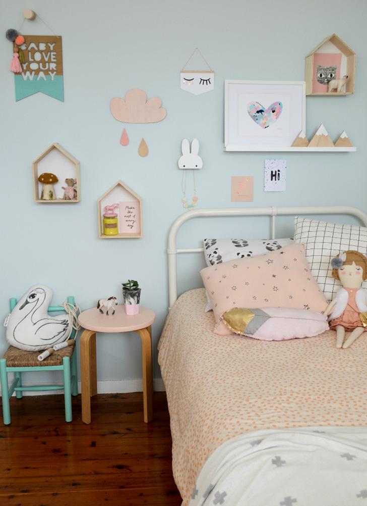 Kids Pastel Room Decor