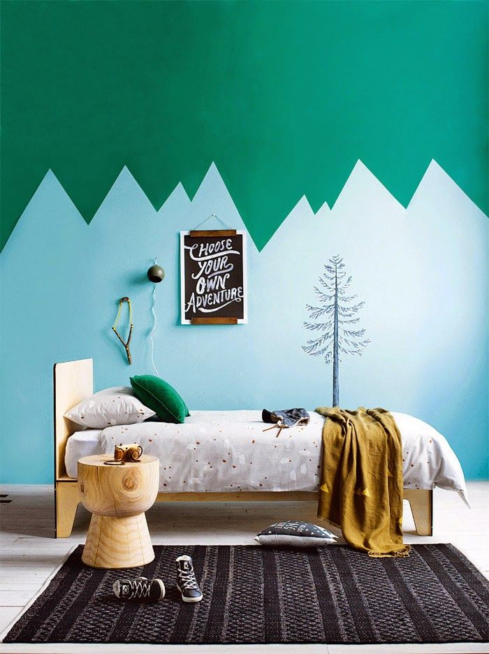 Green Kids Bedroom Ideas 3 Interesting Decorating Design