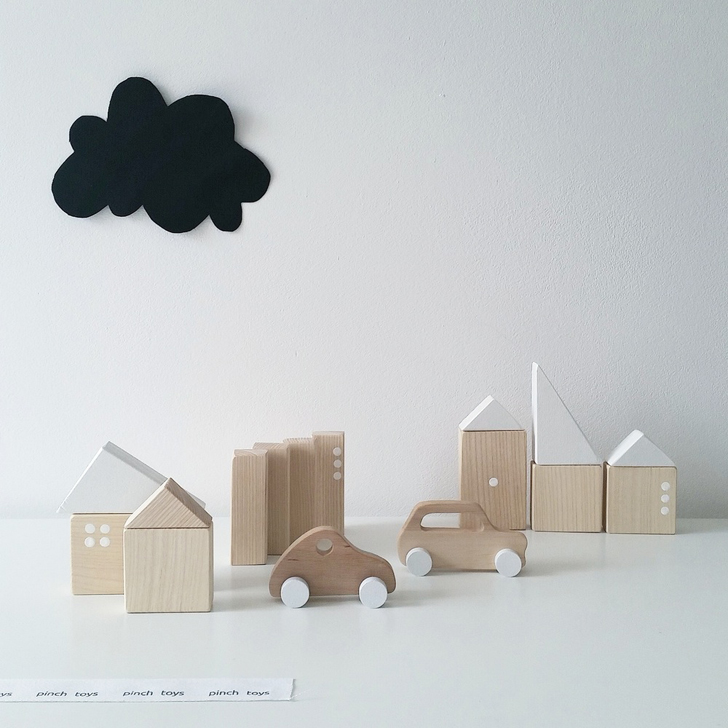 Pinch Toys, Minimalist Handmade Toys