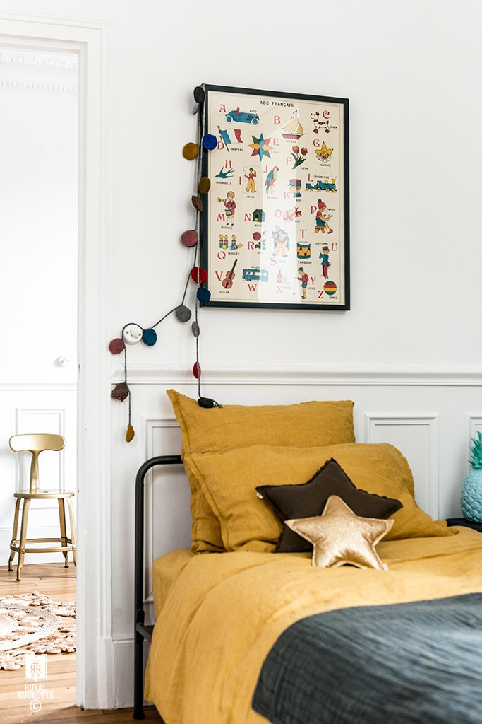 Kids' Rooms with Vintage Look