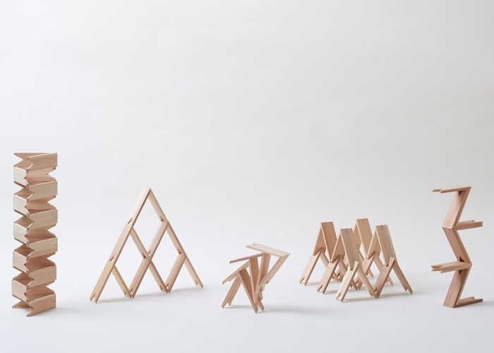 Make your Own Toy, Building or Sculpture with Kengo Kuma's Building Blocks