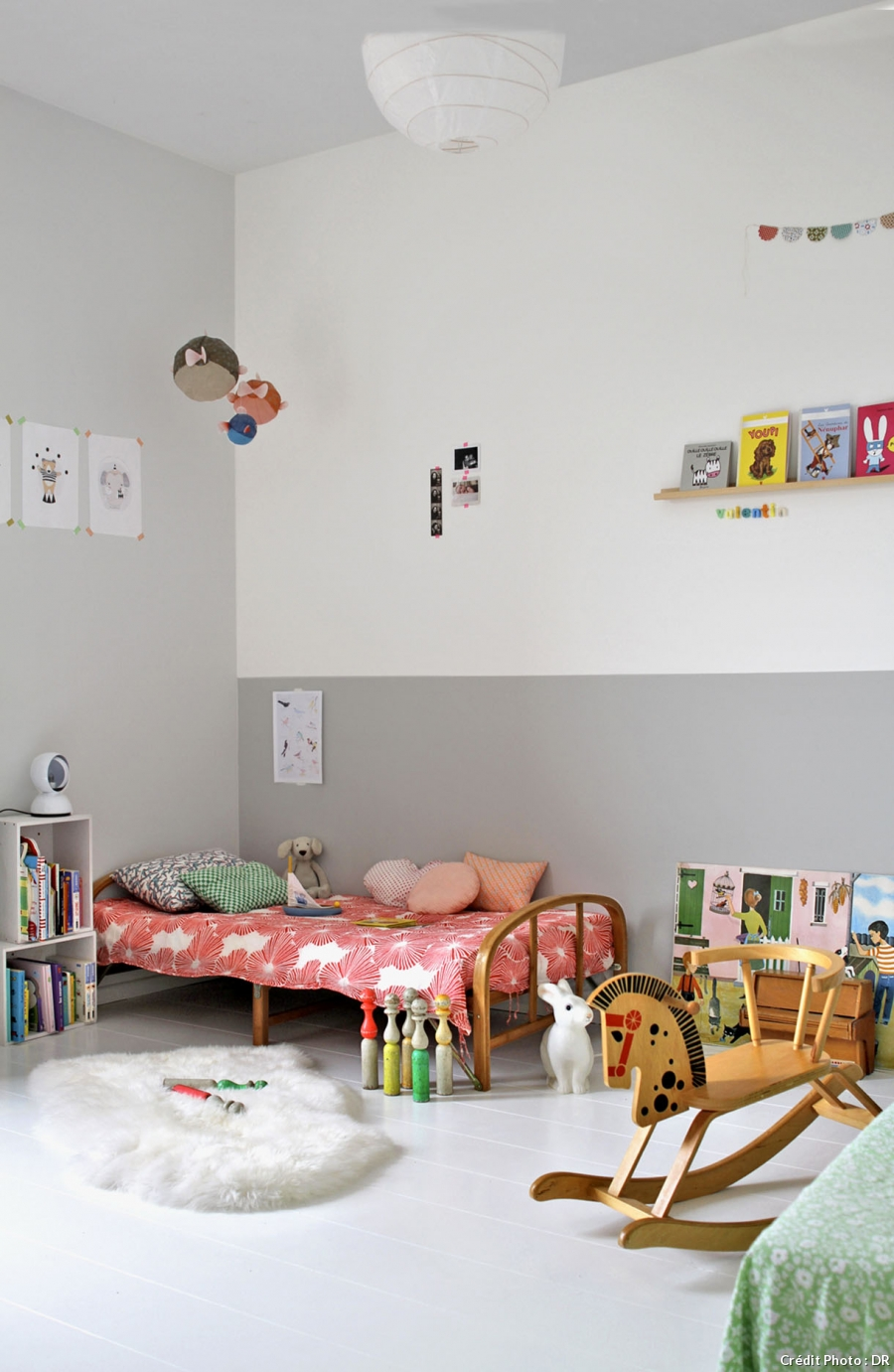 Grey in Kids Room - Petit & Small