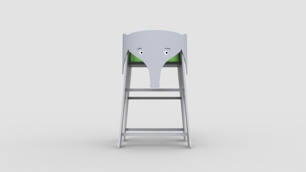 hatiban-elephant-high-chair