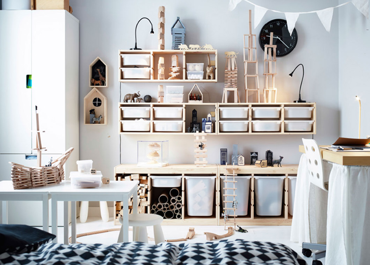 Ordinaire Ikea, Storage Ideas For Kids