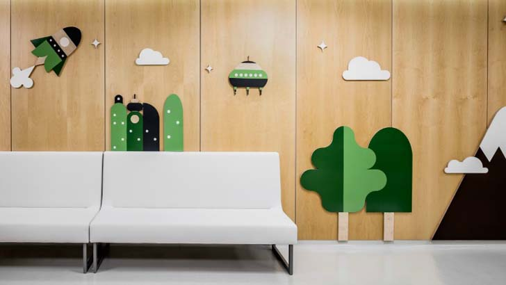 Kids' Hospital with An Amazing Design