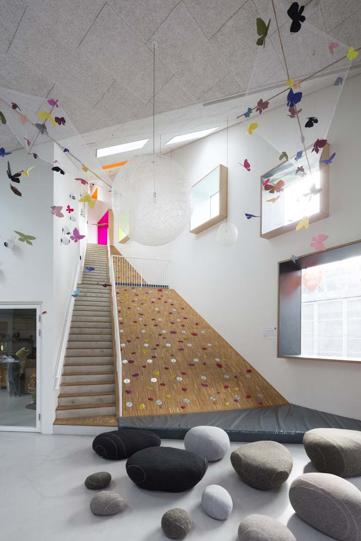 School Nursery Inspired by a Mountain