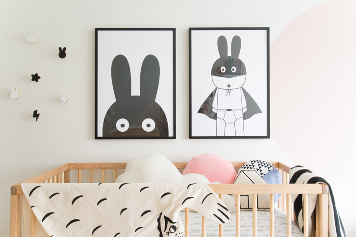 Scandinavian Inspired Kids' Space