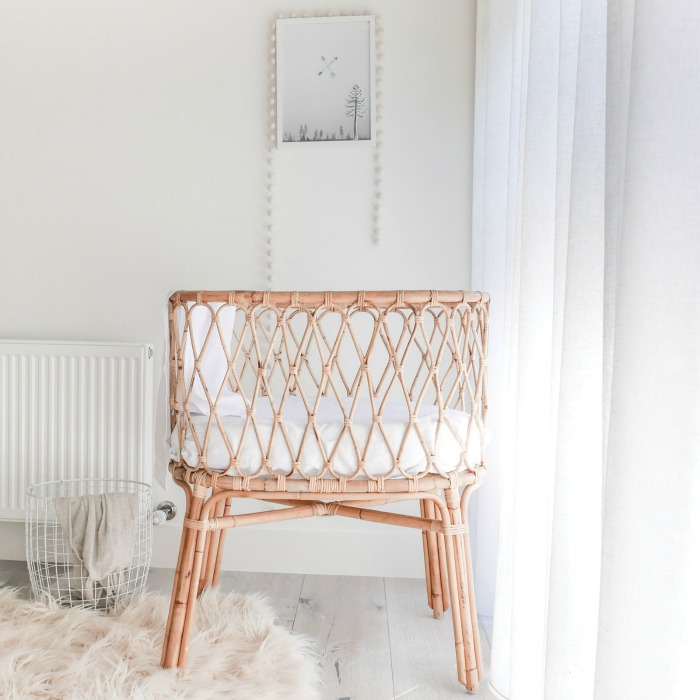 Simplify your Life. White, Ethereal, Minimalistic Nurseries