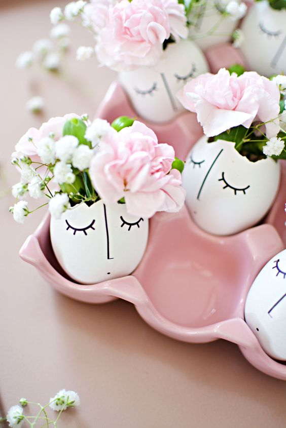 Whimsy-illustrated-eggshell-centerpiece