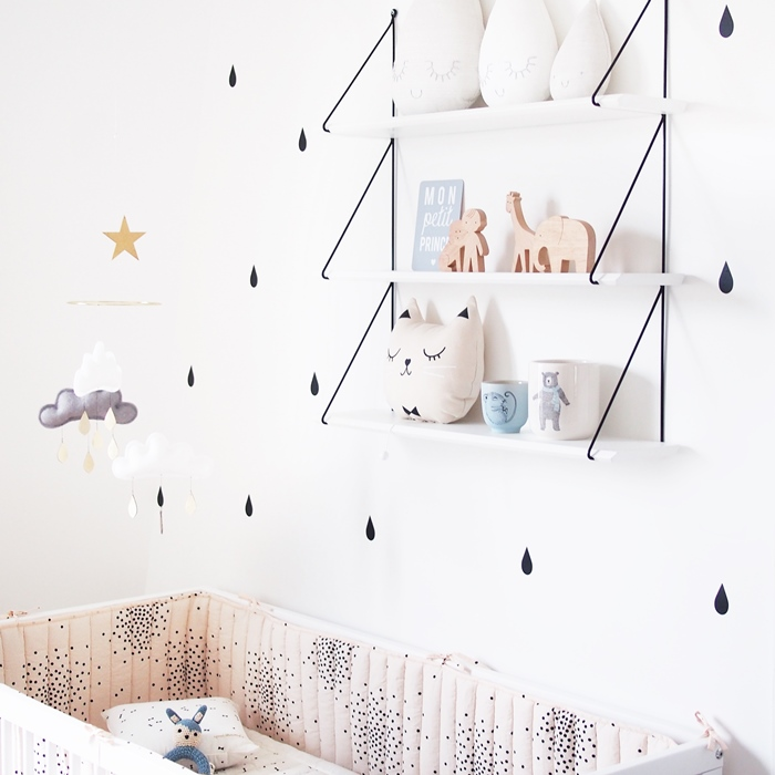 Sweet, Stylish Baby Boy Nursery