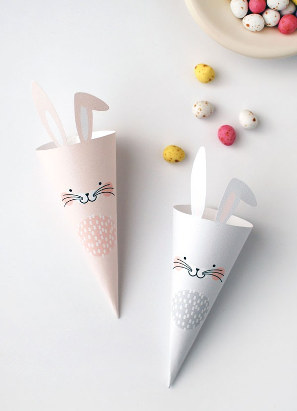 free-printables-easter-bunny-treat-cones
