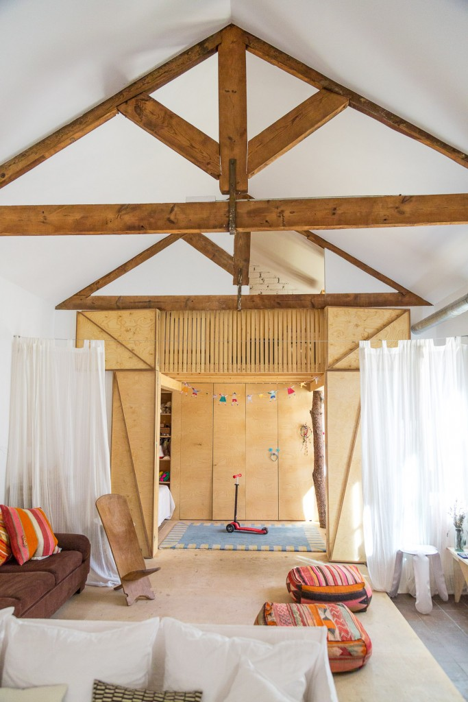A Cabin for Kids in House, by KIVA Magazine