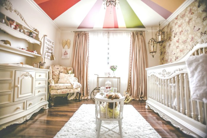 Modern Rococo Nursery