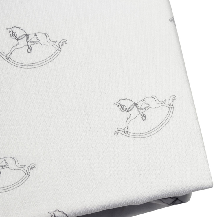 ROCKING-HORSE-CRIB-FITTED-SHEET-GENDER-NEUTRAL-UNISEX-GREY-PEMBERLEY-ROSE