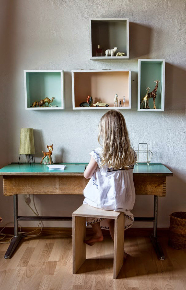 Kids' Room with A Vintage Touch