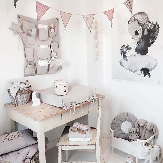 Everything We Know About Beyonce S Nursery Design Ideas: Girl's Nursery In Soft Tones